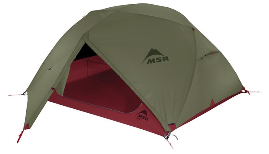 MSR Elixir 3 - Tente - vert/rouge